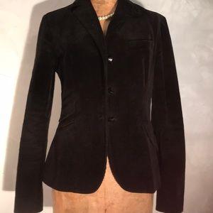 Like New Ralph Lauren Black Corduroy Blazer P9